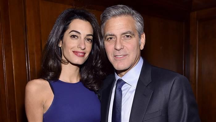 George Clooney revela que os filhos vão nascer em breve