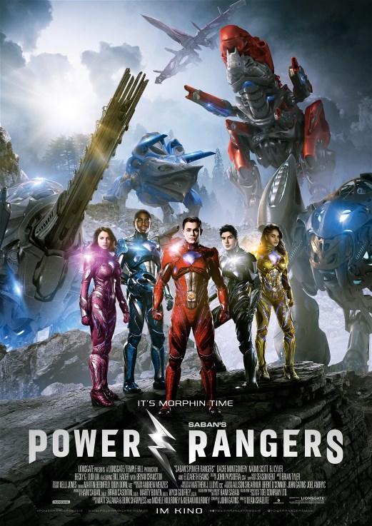 power rangers poster internacional