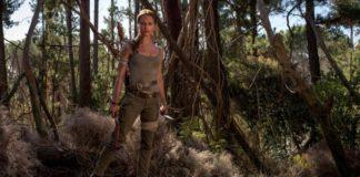 Alicia Vikander como Lara Croft em Tomb Raider: A Origem