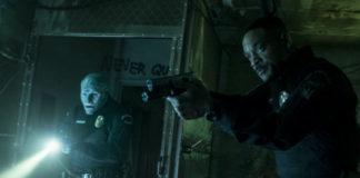 Will Smith e Joel Edgerton como uma dupla de policias em Bright.
