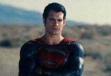 Henry Cavill como Superman em Homem de Aço.