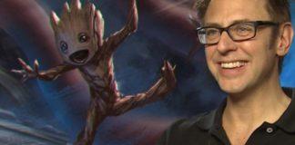 O diretor James Gunn, de Guardiões da Galáxia.