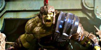 Hulk em Thor: Ragnarok