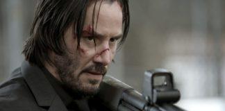 Keanu Reeves como John Wick.