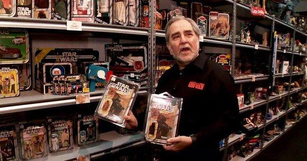 Roubaram a maior coleção de Star Wars do mundo