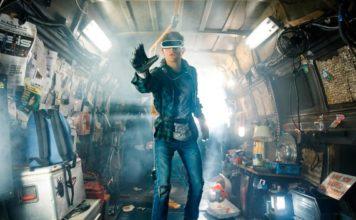 Tye Sheridan em Jogador Nº 1, novo filme de Steven Spielberg.