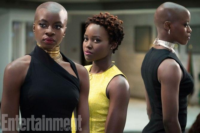 Pantera Negra | Novas imagens apresentam detalhes dos personagens