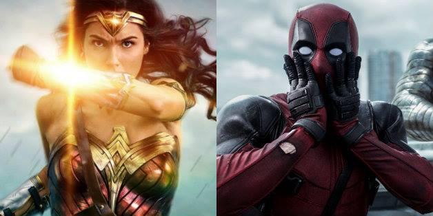 Deadpool parabeniza sucesso de filme da heroína da DC — Mulher-Maravilha