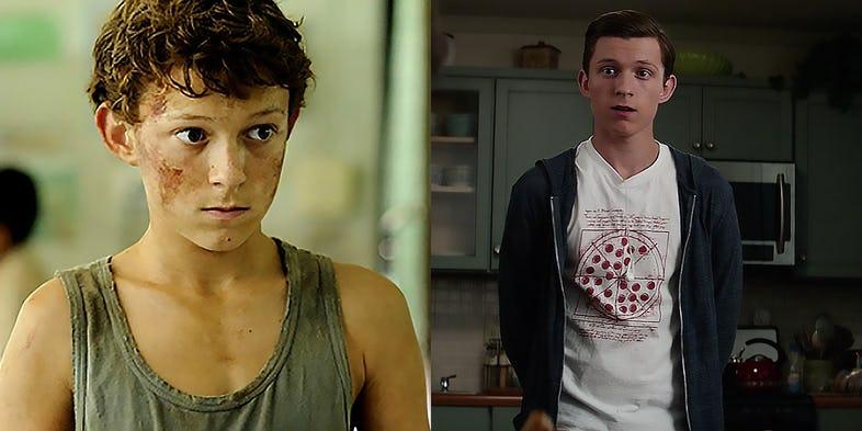 Resultado de imagem para tom holland before and after