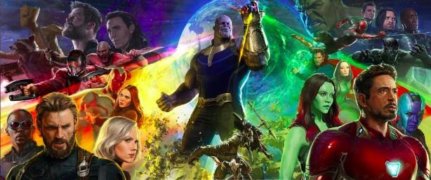 Pôster de Vingadores: Guerra Infinita