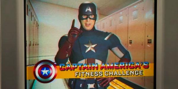 O Capitão em um dos vídeos educativos