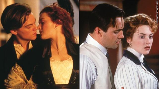 Triângulo amoroso de 'Titanic' se reencontra na França