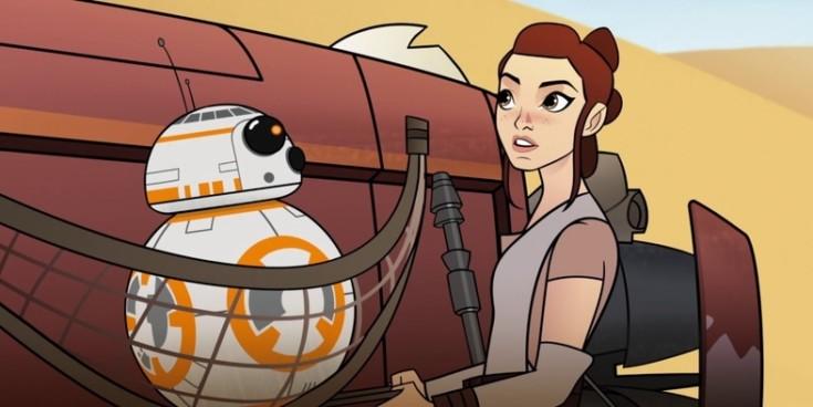 Star Wars: Forces of Destiny - Curta animado da série ganha 1º Episódio