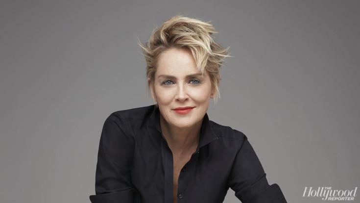 Sharon Stone solta gargalhada perante pergunta sobre assédio sexual