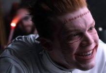 Jerome (Cameron Monaghan) em Gotham.