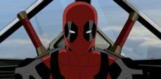 Deadpool em animação.