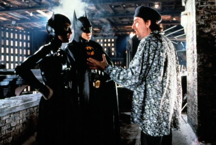 Michelle Pfeifer, Michael Keaton e Tim Burton