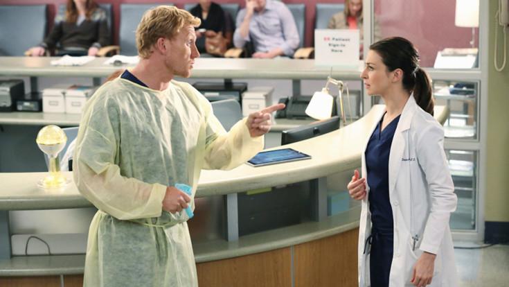 Owen e Amelia em Grey's Antomy