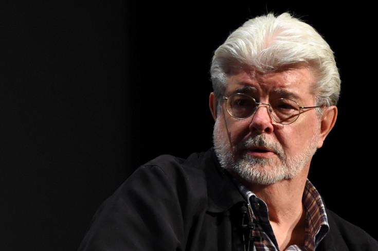 O diretor George Lucas, criador de todo universo Star Wars.