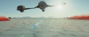 O Planeta Crait de Star Wars.