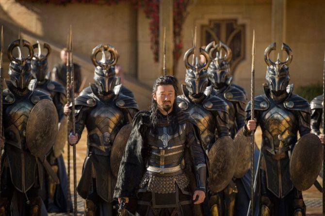 Hogun em Thor: Ragnarok