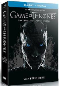 Capa Blu-Ray de Game of Thrones.