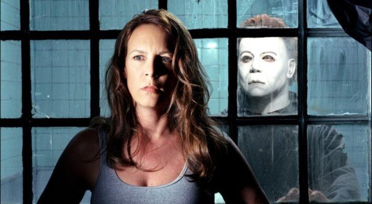 Jamie Lee Curtis em Halloween.