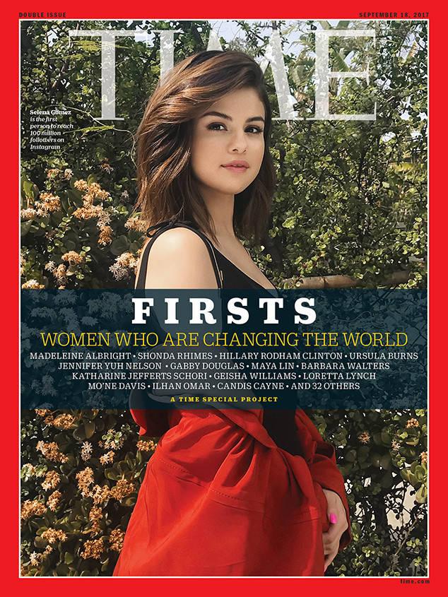 Capa de Selena Gomez para a Time