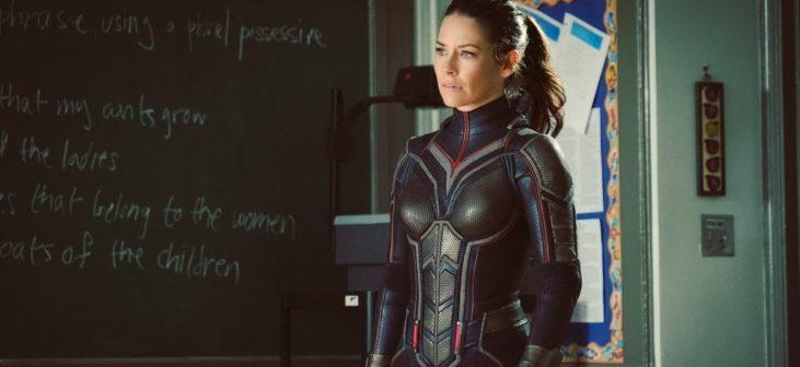 Evangeline Lilly em Homem-Formiga e a Vespa.