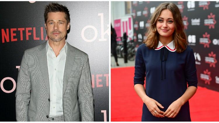 Brad Pitt arranjou uma nova Angelina Jolie