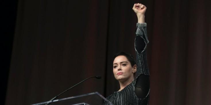 Rose McGowan, uma das atrizes que denunciou Harvey Weinstein