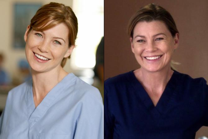 300 episódios: Veja o antes e depois do elenco de Grey's ...