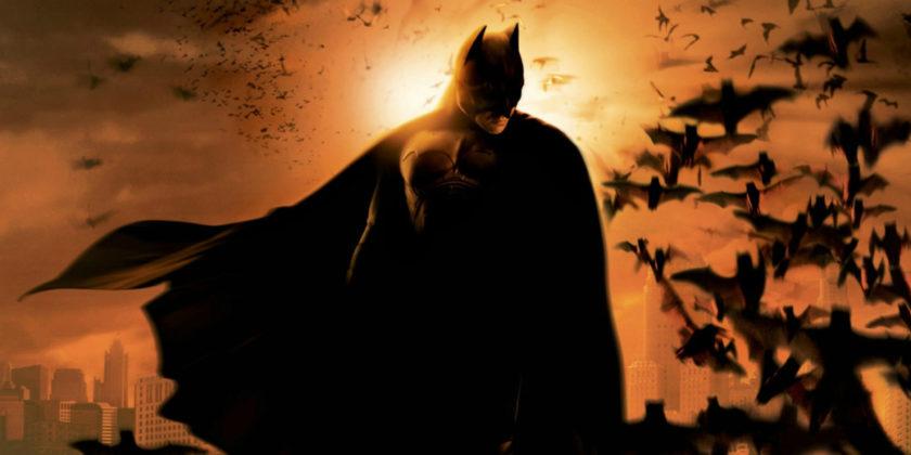 Christian Bale como Batman na trilogia Nolan.