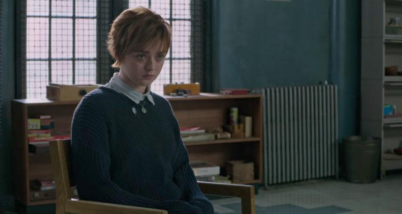 Maisie Williams como Lupina em Novos Mutantes