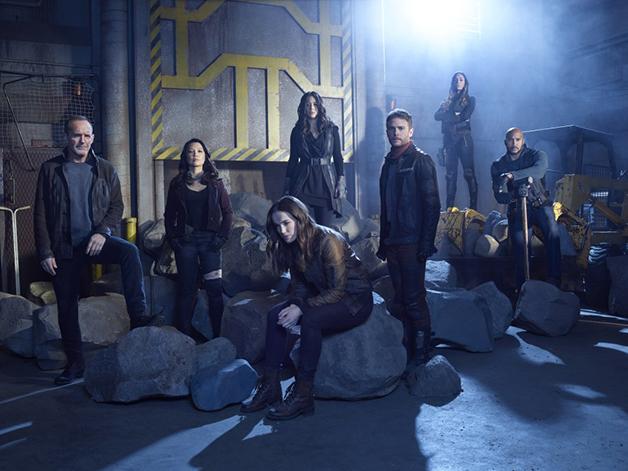 Elenco oficial da quinta temporada de Agents of SHIELD.