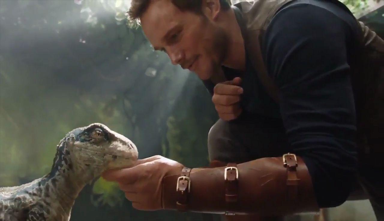 Chris Pratt em Jurassic World: Reino Ameaçado