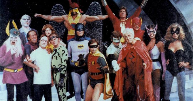 Legends of superheroes