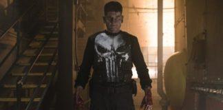 Jon Bernthal como Frank Castle, em O Justiceiro.