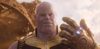 Thanos no trailer de Guerra Infinita.