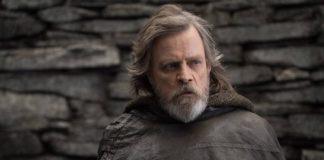 Mark Hamill como Luke Skywalker em Star Wars: Os Últimos Jedi.