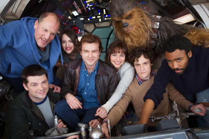 Elenco do filme de Han Solo.
