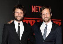 Irmãos Duffer, showrunners da série Stranger Things.