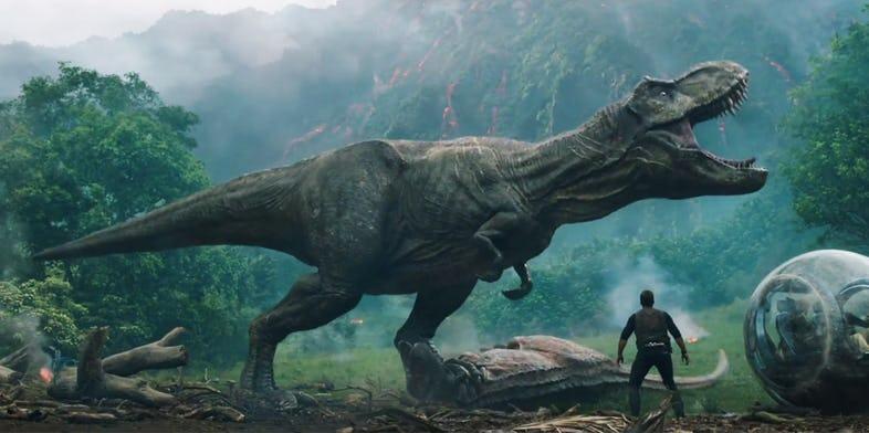 Jurassic World Reino Amea ado