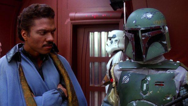 Lando Calrissian, adorado por uns, odiado por outros.