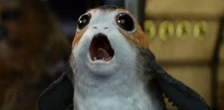 Um Porg em Star Wars: Os Últimos Jedi