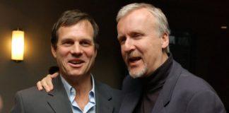 Os amigos James Cameron e Bill Paxton