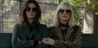 Sandra Bullock e Cate Blanchett em Oito Mulheres e Um Segredo