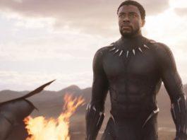 Chadwick Boseman em Pantera Negra.
