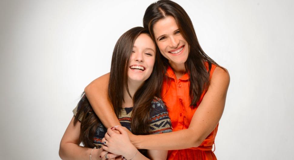 Larissa Manoela e Ingrid Guimarães