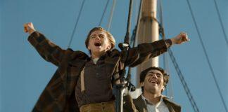 """""""Eu sou o rei do mundo"""", frase dita por Leonardo DiCaprio."""